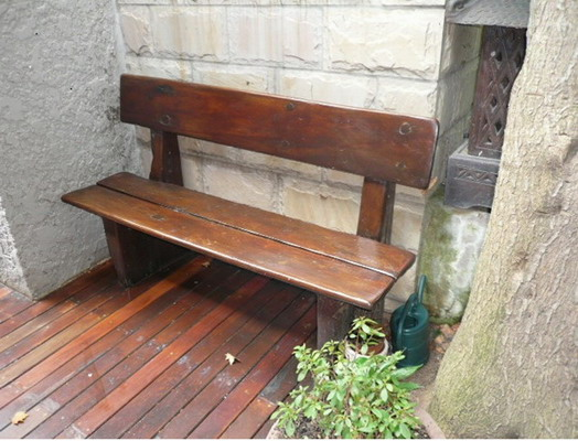 railway sleeper bench warrior wooden furniture solid. Black Bedroom Furniture Sets. Home Design Ideas