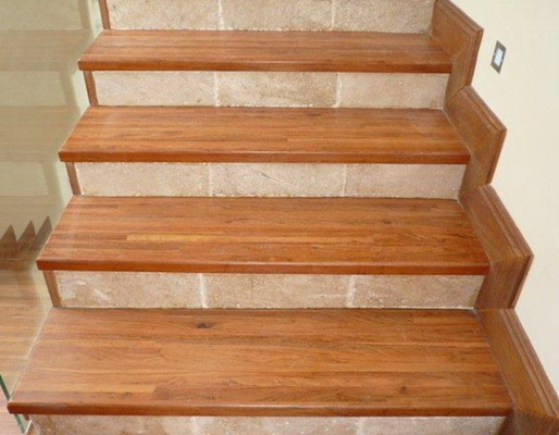 Solid Wood Stair Treads Pictures